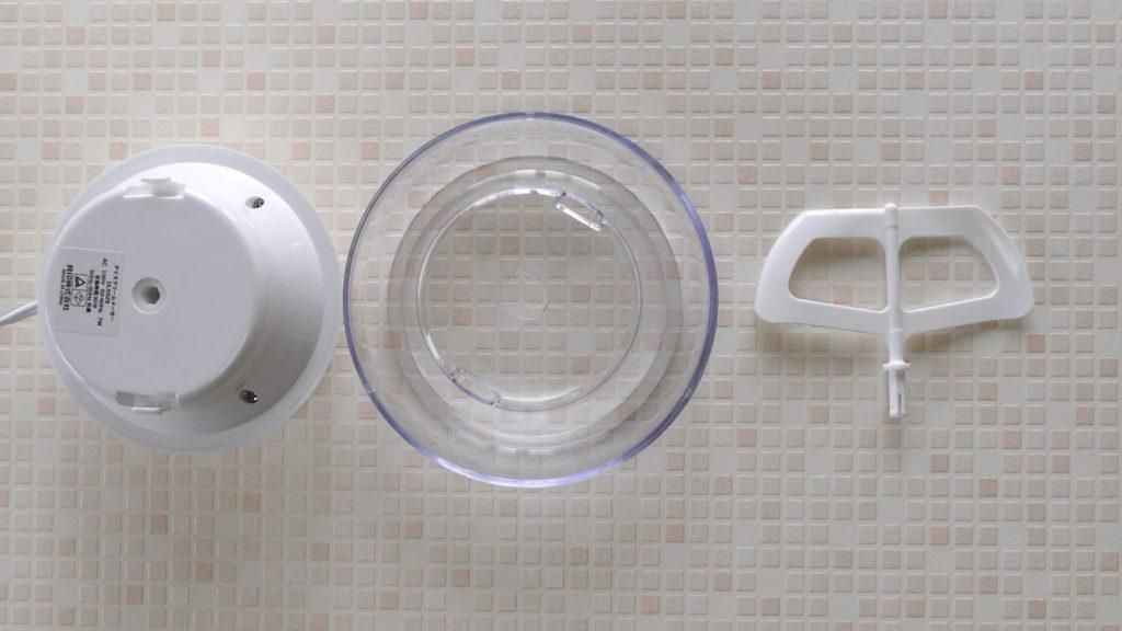 貝印『アイスクリームメーカー ホワイト DL-5929』の清掃や後片付けについて紹介