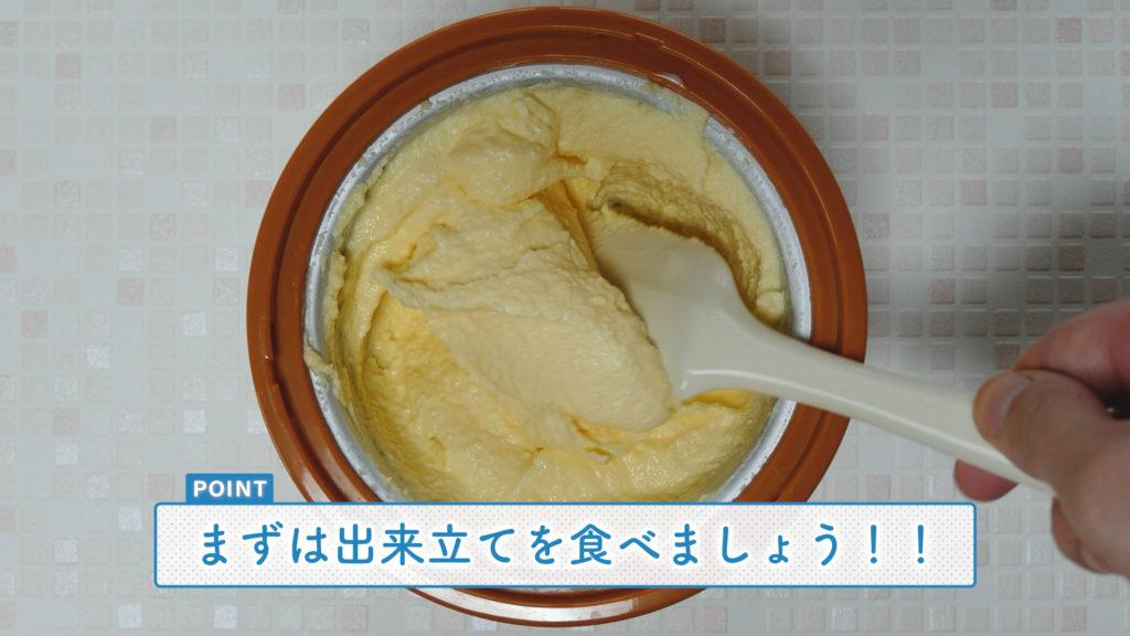 自家製アイスのオススメの食べ方と保管方法紹介