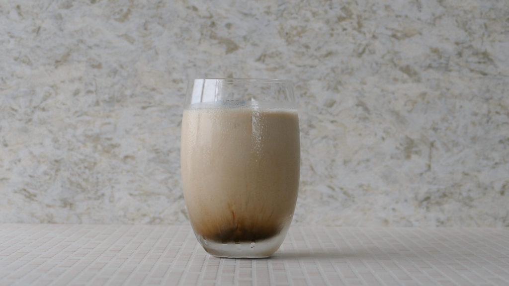 氷コーヒーの実物