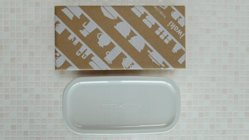 イワキ 保存容器 パック&レンジ 浅型 ハーフ 500mlの商品画像です。