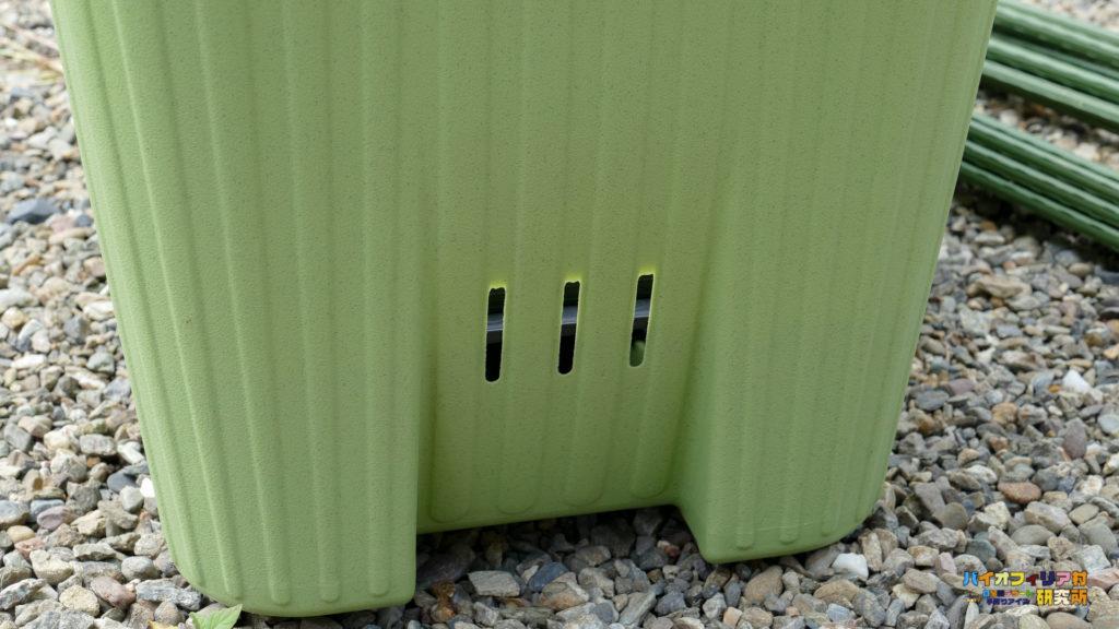 楽々菜園深型600プランターの通気性能の良さについて解説