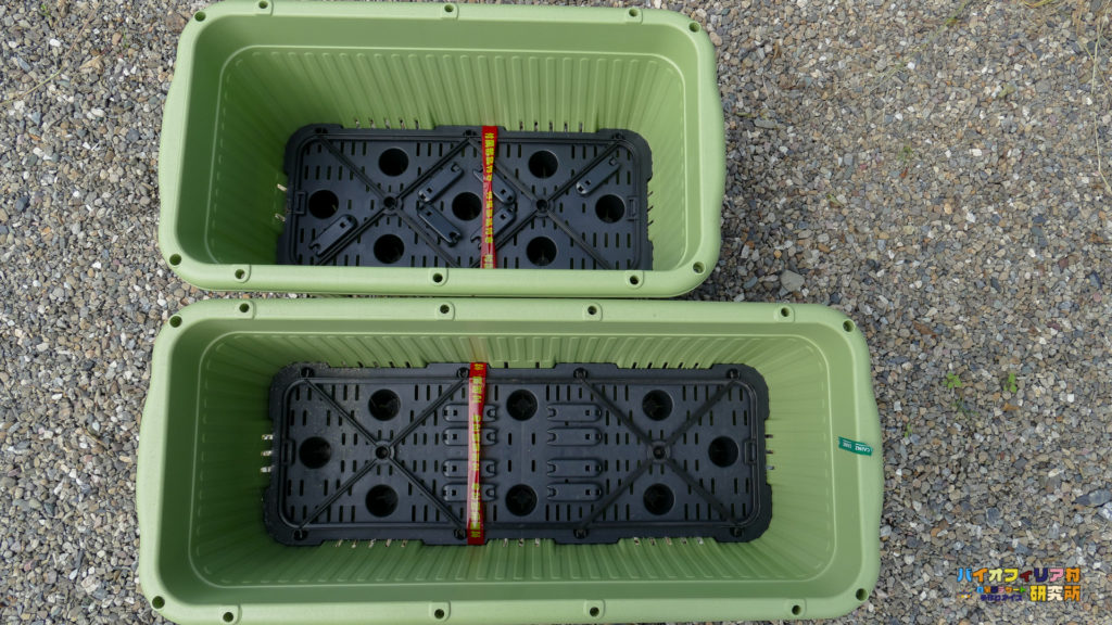 楽々菜園深型600と750プランター比較