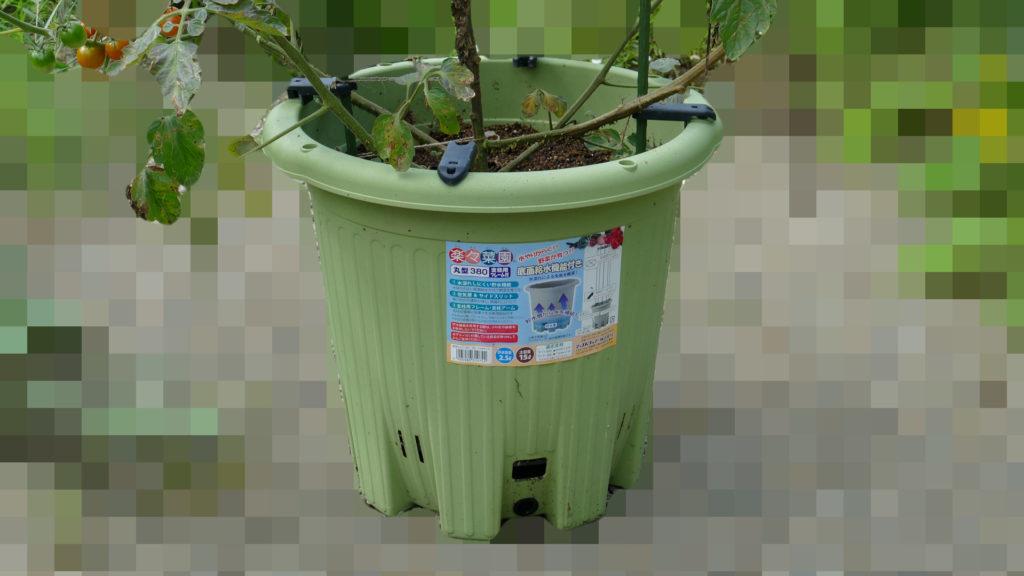 楽々菜園丸型380プランターの商品画像
